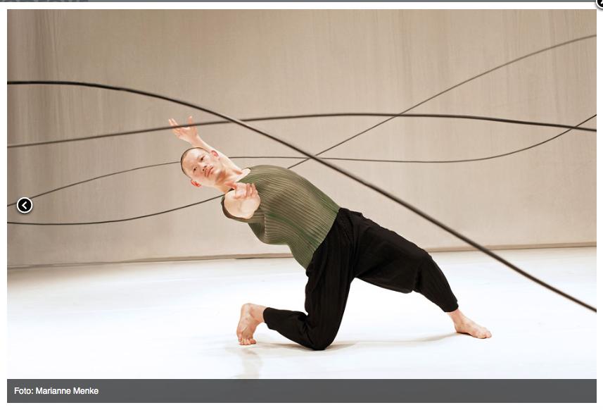 STEPTEXT DANCE PROJECT / HELGE LETONJA: ZWEI GIRAFFEN TANZEN TANGO – BREMER SCHRITTE